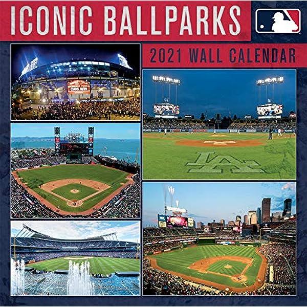 Mlb Iconic Ballparks 2021 Calendar: Lang Companies, Inc