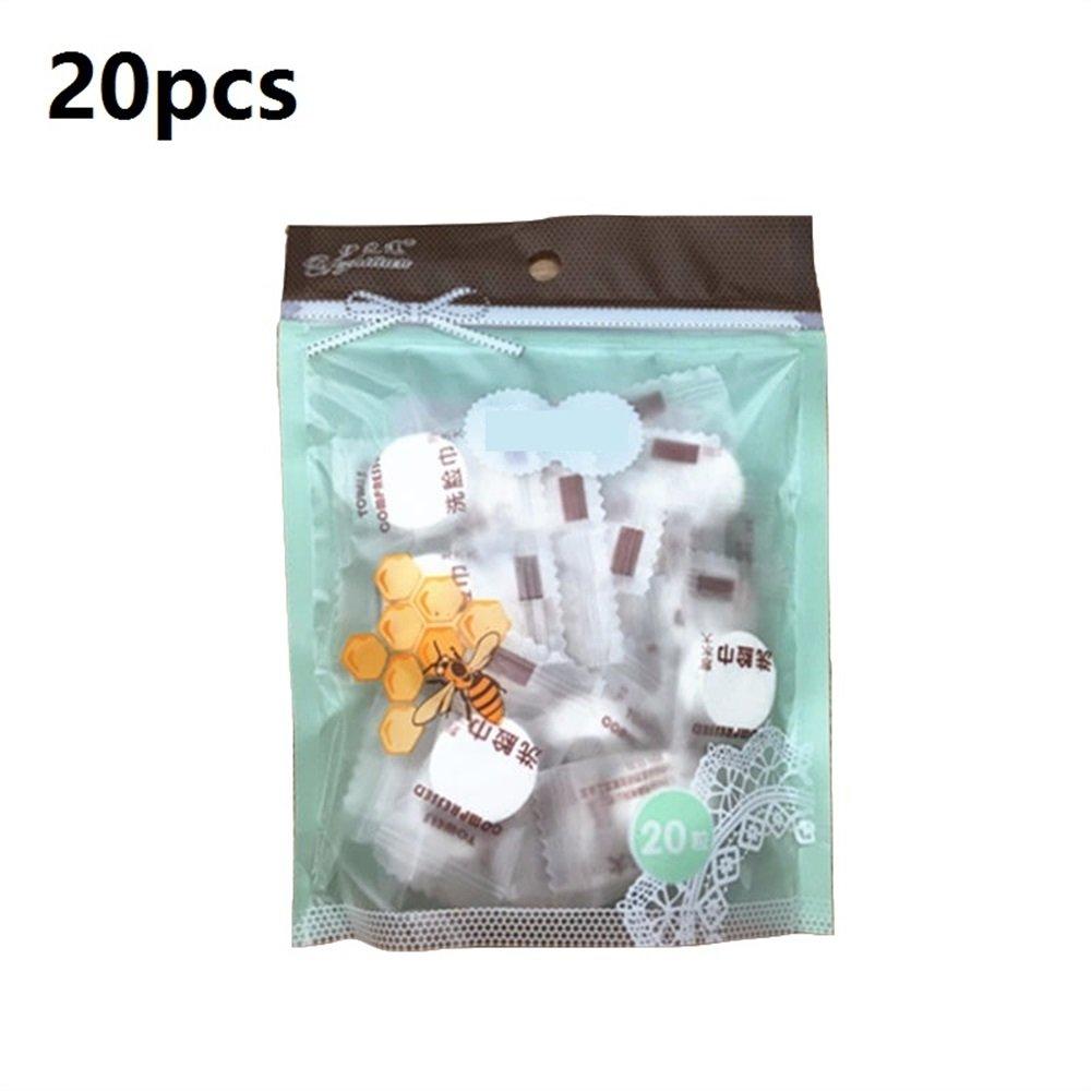happy- little -bear Serviettes de bain compressé es ré utilisables Serviette jetable de tissu jetable de papier hygié nique MagicTowel