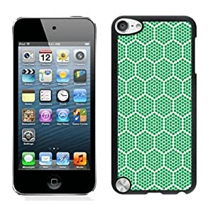 Unique Ipod 5 Cases for Girls Honeycomb Black Ipod 5th Generations Protective Cover for Boys