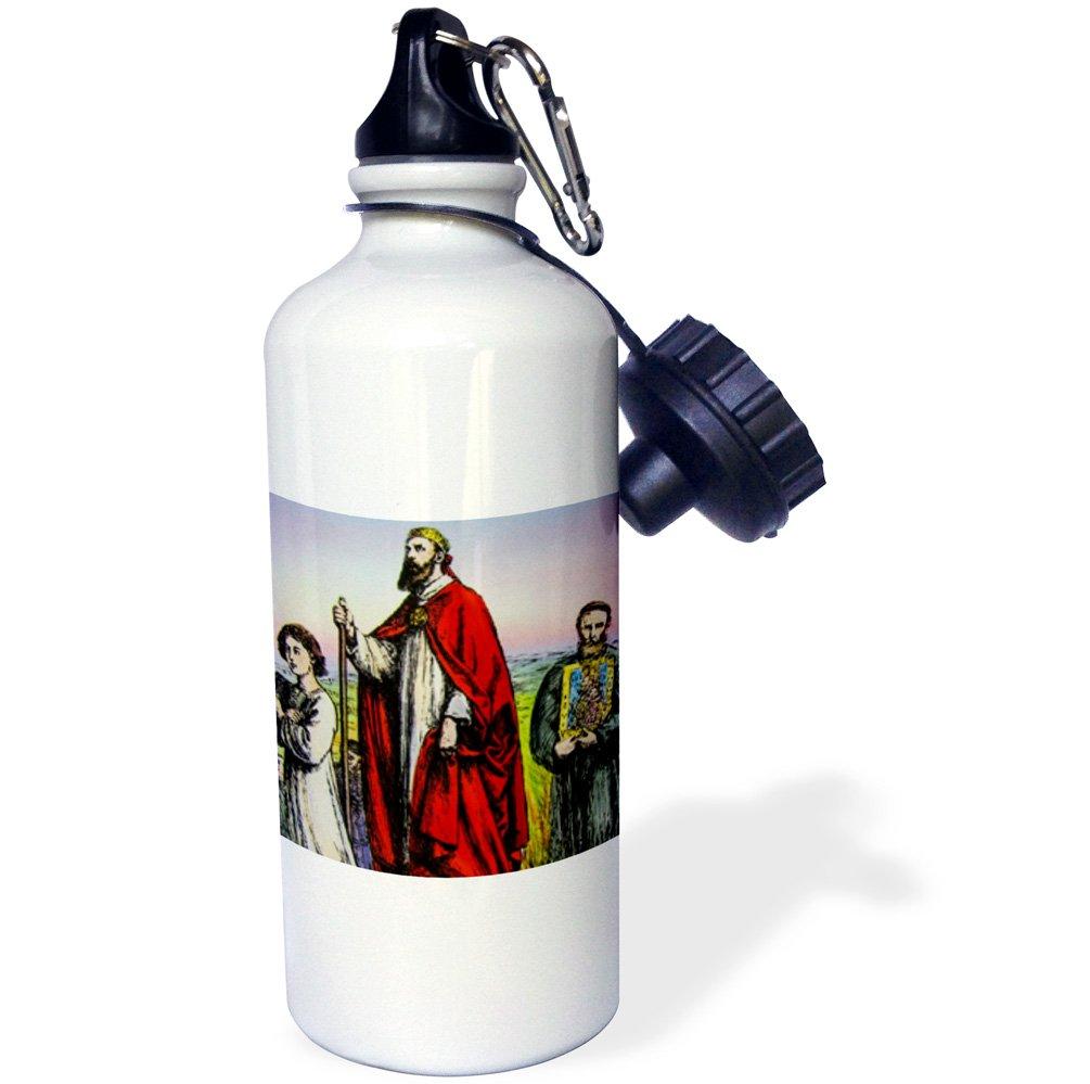 ローズWB 249009 _ 2ハンガリーStraw Water Bottle B06X9XFBLJ