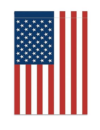 amazon com magnolia 28 5 x 48 american flag vertical hang large