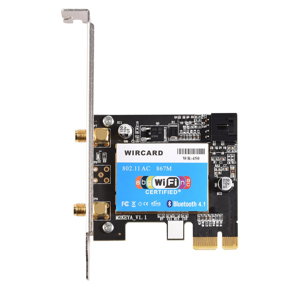 Richer-R Mini tarjeta WiFi, profesional Bluetooth 4.0 + 2.4 ...