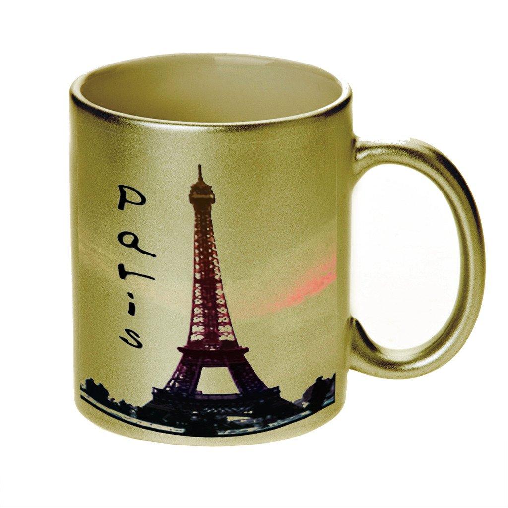パリゴールドSparkleコーヒーカップマグ B01807DCVS