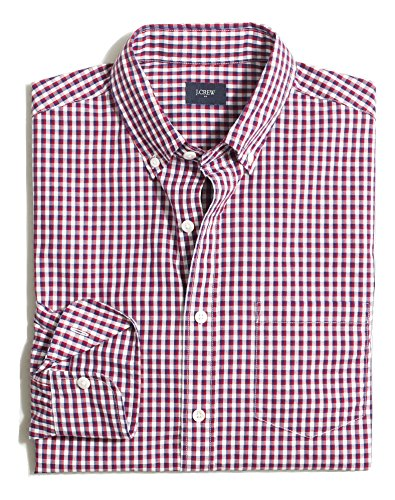 J.Crew Washed Shirt Regular Fit Button Down Plaid
