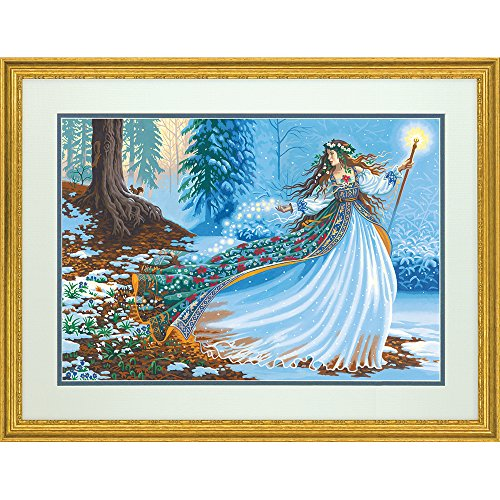 Dimensions Paint Works PaintWorks Woodland Enchantress Paint-by-Number Kit, 73-91612