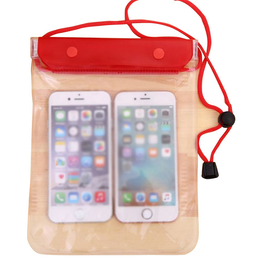 Demarkt Funda Bolsa Móvil Impermeable Universal Certificado Móvil Transparente Sensible al Tacto para ipad mini Teléfono Teléfono Inteligente