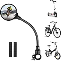 3pcs Bicycle Mirror 360 Degree Rotation Cycling Rear View Mirror Adjustable Bicycle Universal Mirror and Bike Phone Holder for Mountain Road Bike MHwan Bike Wing Mirror