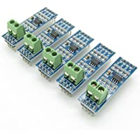 Max485 Chip RS-485 Module TTL to RS-485 Module Raspberry Pi Pack of 5