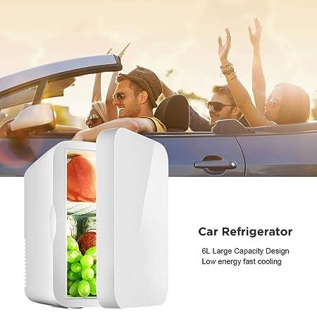 Mini refrigerador Nevera eléctrica fría y cálida, Refrigerador de ...
