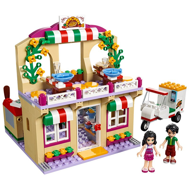 LEGO 41311 Friends Heartlake Pizzeria: LEGO: Amazon.co.uk: Toys & Games