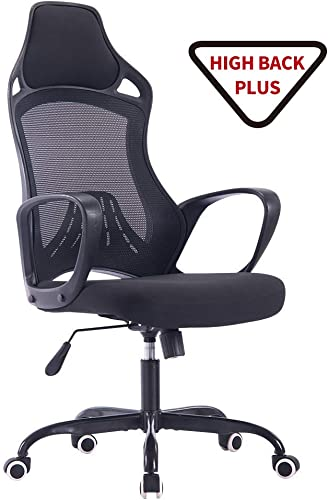 Sidanli High Back Computer Chair-Black