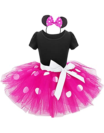 a92df2122a5e2 IWEMEK Infant Baby Toddlers Girls Christmas Polka Dots Birthday Princess  Bowknot Tutu Dress Halloween Xmas Cosplay