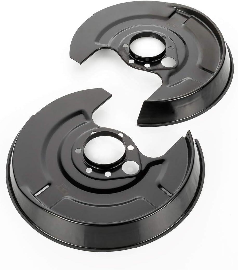 LST 2x Ankerblech Schutzblech Bremsscheibe Deckblech hinten 80 B4 A4 B5