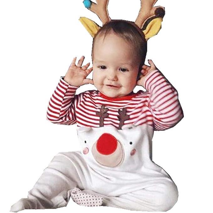 Chickwin Pijamas de Bebé, Algodón Otoño e Invierno y Niños Pequeños Ropa Interior Conjunto Recién