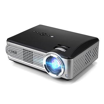 iRULU P4 Proyector de vídeo HD proyector de LED Proyector de 1080p ...