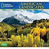 National Geographic American Landscapes 2019 Wall Calendar