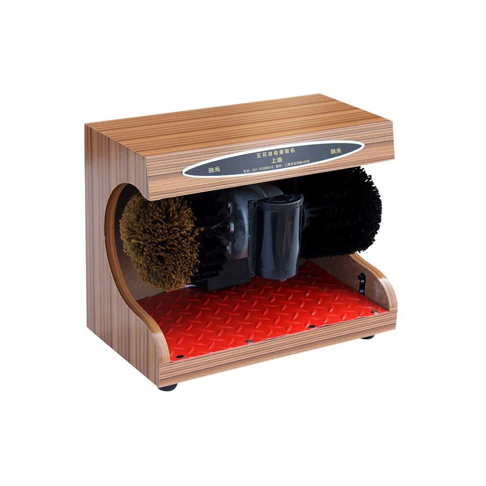 QFFL 自動靴磨き機、電動ブラシ交換靴の靴磨きホテル公共世帯黒(37x21x31cm) クリーニングブラシ (色 : B, サイズ さいず : 37x21x31cm) B07P852Y9L B 37x21x31cm