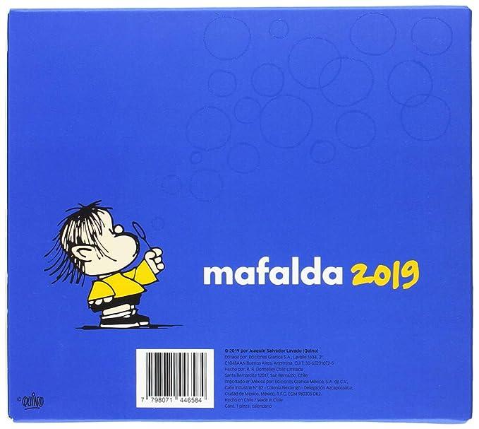 Granica GB00113 - Mafalda 2019, calendario de colección ...