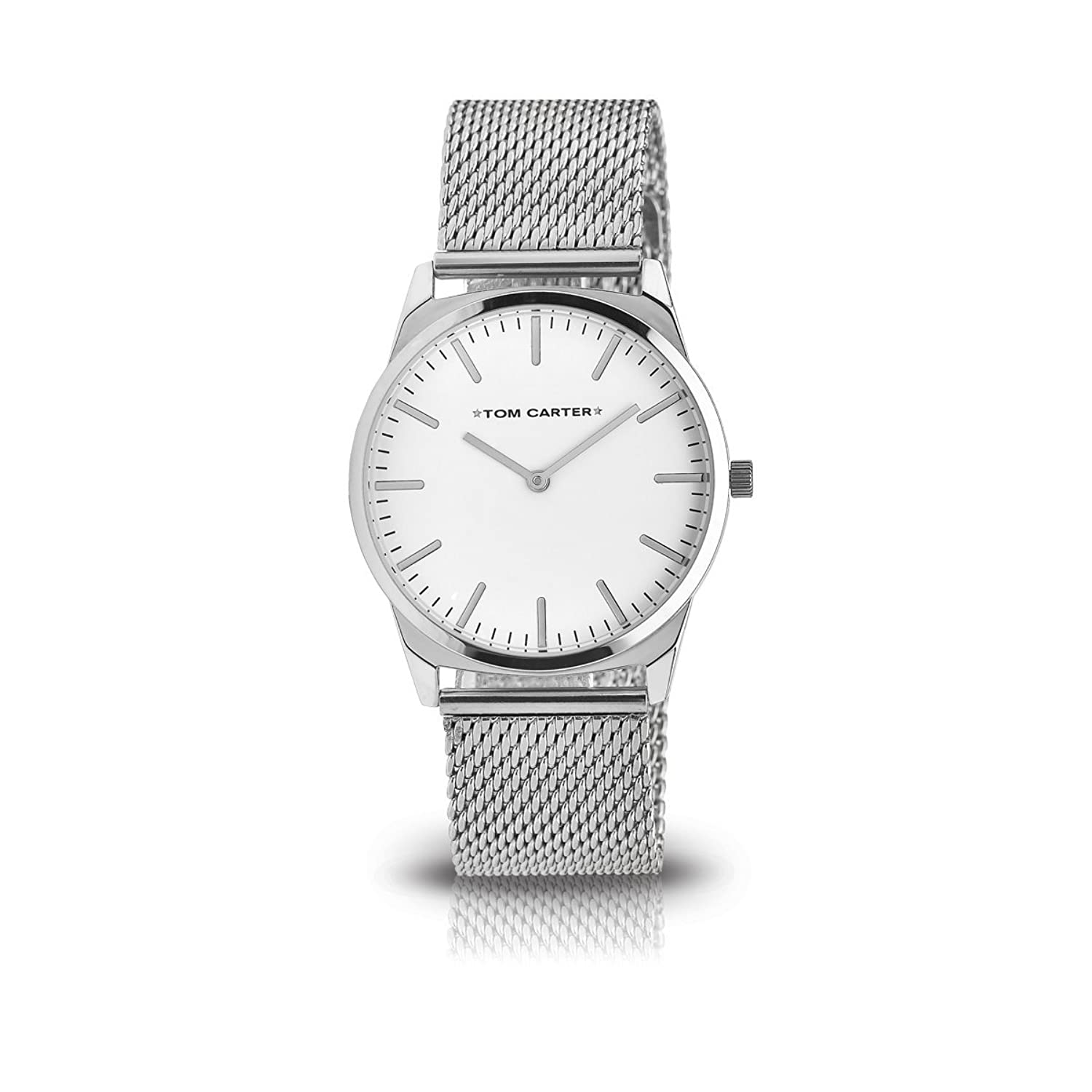 CRUISE COLLECTION 40mm CRUISE ELEGANCE STEEL - WHITE