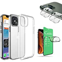 Kit Capa Clear Case, Película de Cerâmica 9D Premium, Película de Câmera 3D, iPhone 12, iPhone 12 Pro, iPhone 12 Pro Max…