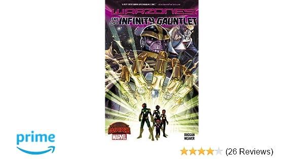Amazon Infinity Gauntlet Warzones 9780785198741 Gerry