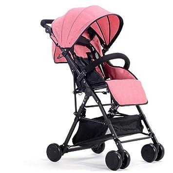 baby stroller Carrito Ligero Transpirable Plegable Carro De Bebé Bebé Niño Carro Puede Sentarse Paraguas Portátil Reclinable,3: Amazon.es: Deportes y aire ...