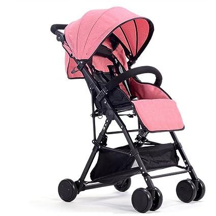 baby stroller Carrito Ligero Transpirable Plegable Carro De Bebé Bebé Niño Carro Puede Sentarse Paraguas Portátil