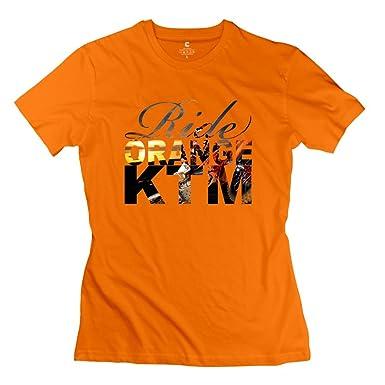 Archie diseño Ride Naranja Ktm Ken Roczen camisetas para las mujeres: Amazon.es: Ropa y accesorios