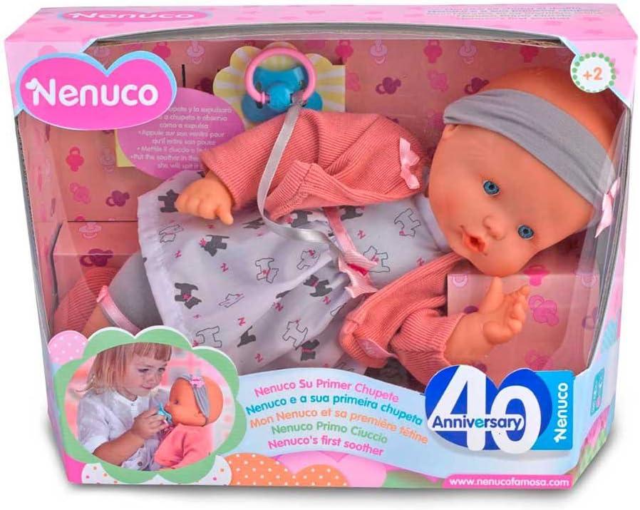 Amazon.es: Nenuco Muñeca primer chupete (Famosa 700013391 ...