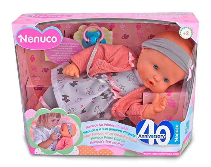 Nenuco Muñeca primer chupete (Famosa 700013391)