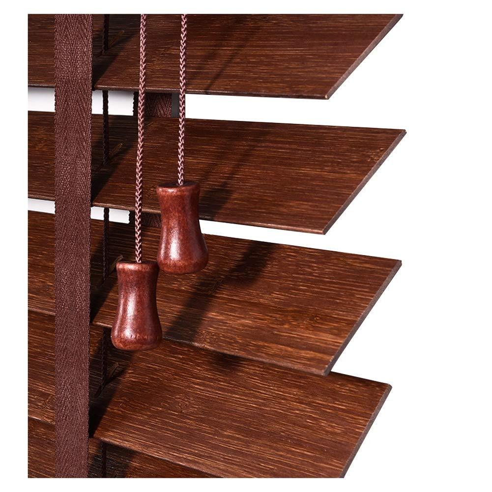 DS- カーテン 竹ブラインドベッドルームリビングルーム研究防水ソリッドウッドブラインドシェーディング2色マルチサイズカスタム && (色 : B, サイズ さいず : 150x200cm)   B07M8R1F2P