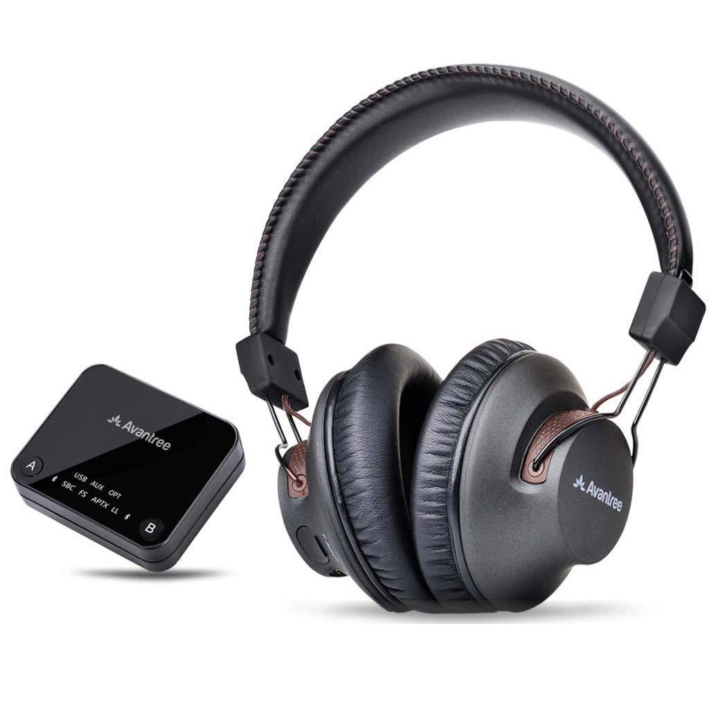 Avantree HT4189 Cuffie Senza Fili per TV con trasmettitore Bluetooth 6f0bcb54bf9d