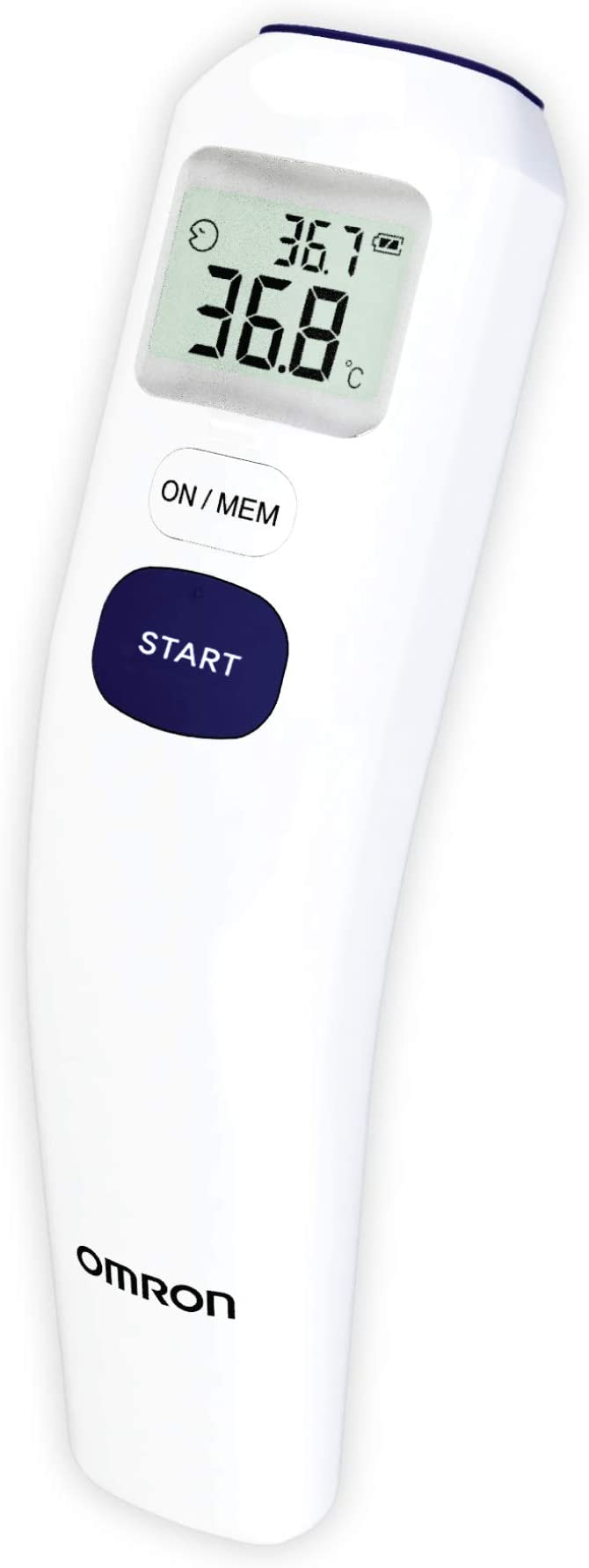 Omron Mc-720 Non-Contact Forehead Thermometer elderly gadget