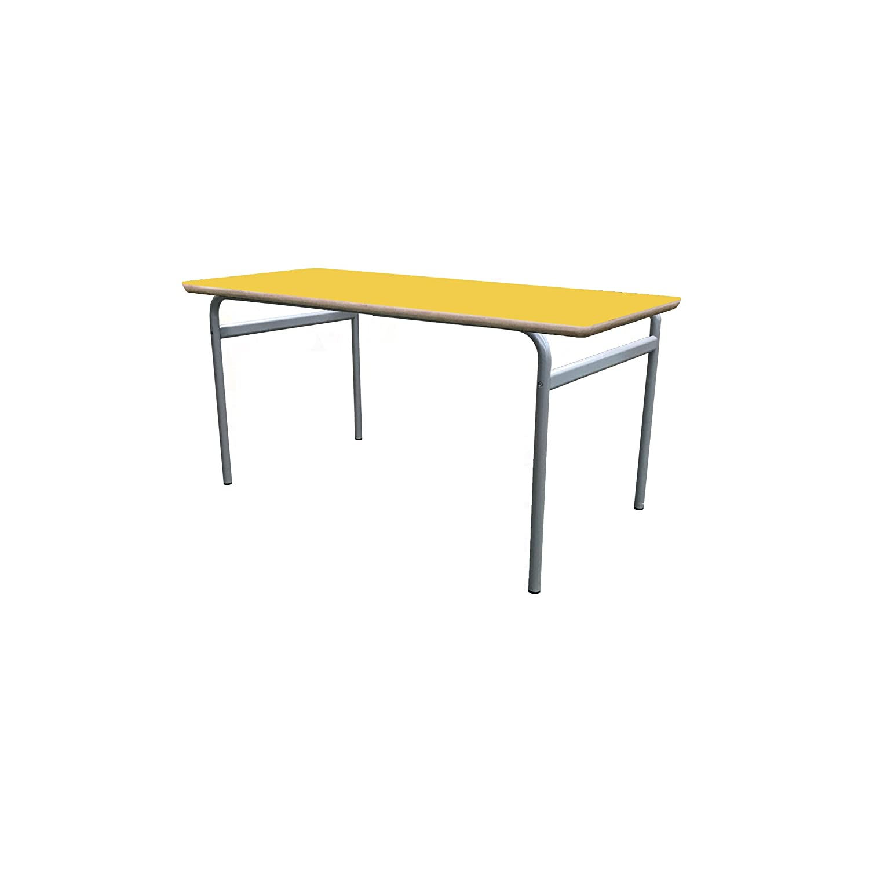 Mobeduc niños Extensible de la Mesa de Estructura, Madera, Amarillo, tamaño 3, 200 x 80 x 59 cm