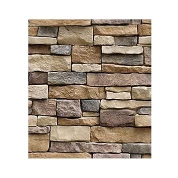 Windy5 Impermeabile Stone Brick Wall Sticker Auto adesivo ...