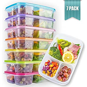 amazonbasics bento lunch box containers set of 4 kitchen dining. Black Bedroom Furniture Sets. Home Design Ideas