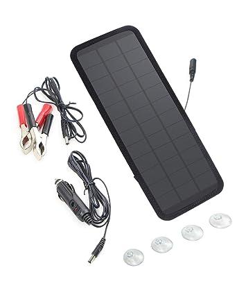 SOLKA 18V 7.5W Sunpower Cargador solar de batería Panel solar Panel solar Cargador de batería Mantenedor