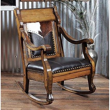 Country Roadu0027s Cowboy Spirit Rocking Chair