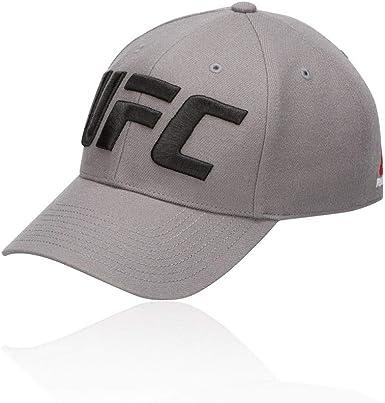 Reebok UFC Baseball Cap Gorra, Hombre, medgre, Talla Única: Amazon ...