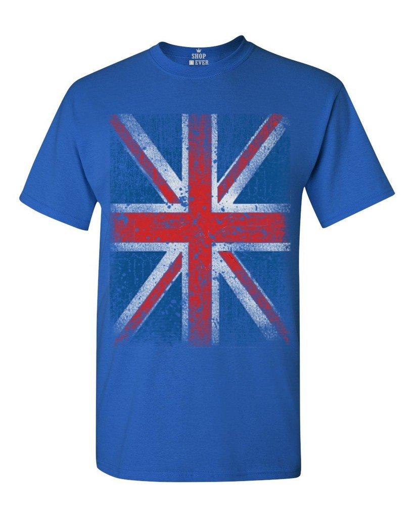 Union Jack T Shirt British Flag Shirts 3257