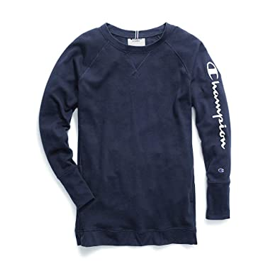 0b61bee30 Amazon.com: Champion Women's Heritage French Terry Tunic: Clothing