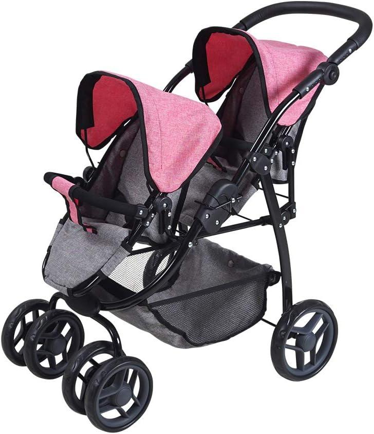 KNORRTOYS.COM Knorr 16422 - Cochecito de bebé para muñecas, Color Gris