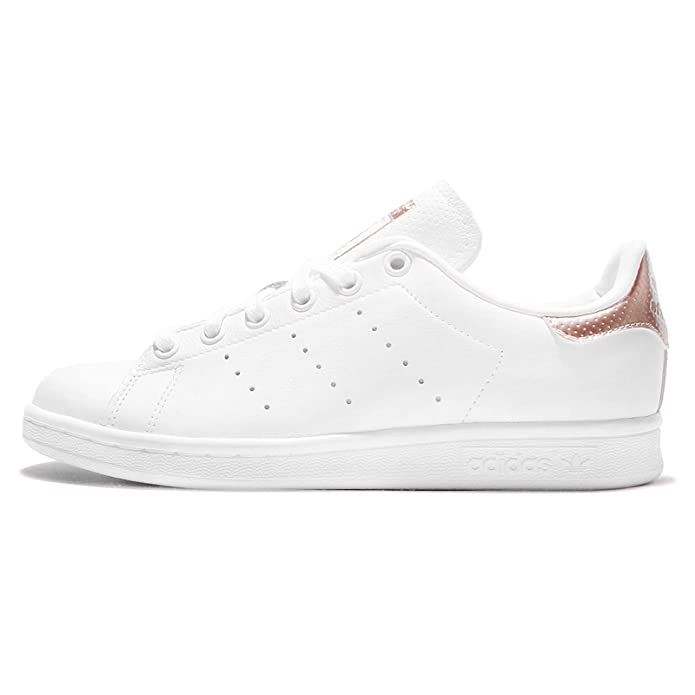 Adidas Women's Stan Smith W, Footwear White/Rose Gold, 6.5 ...