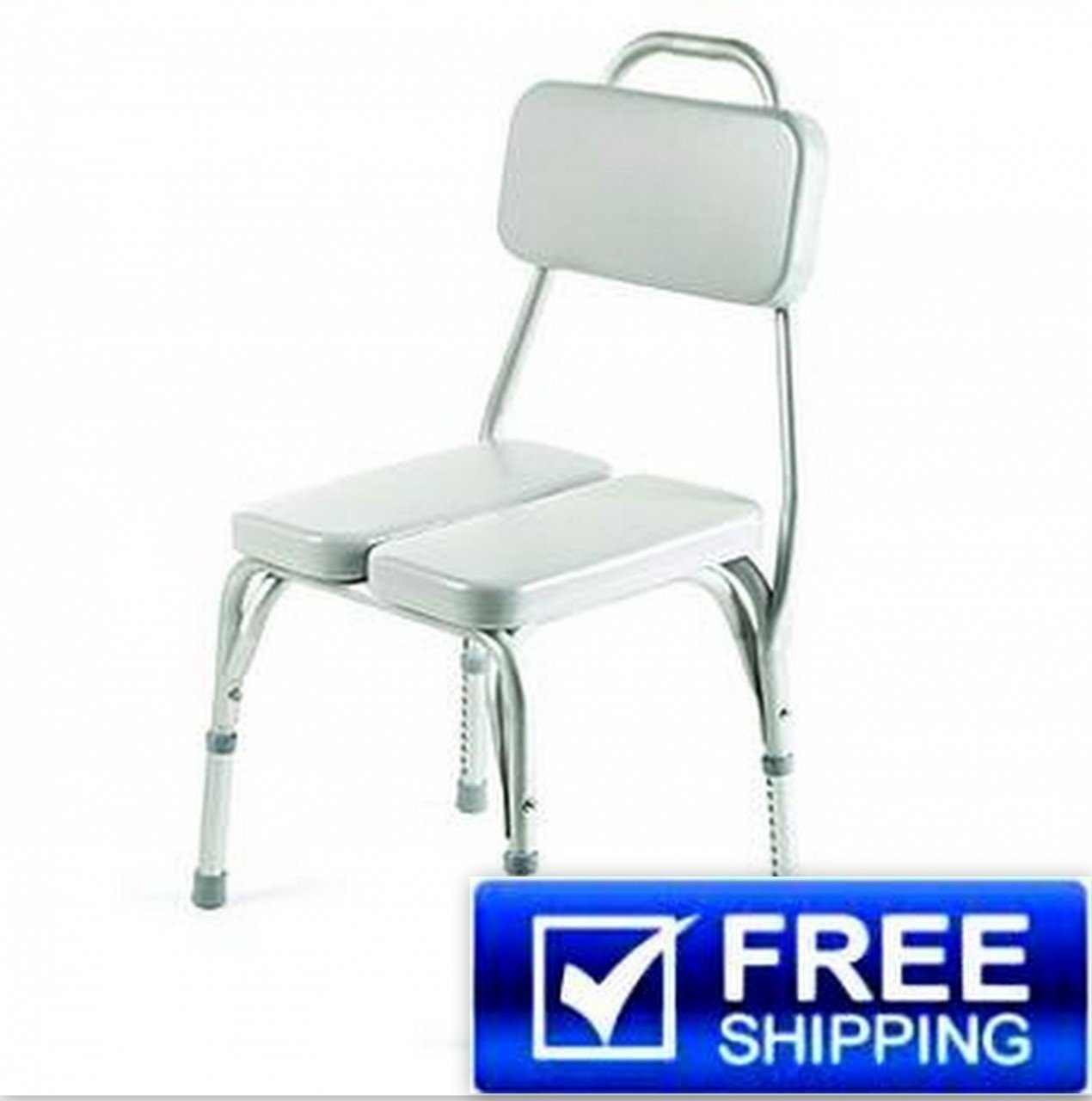 Amazon.com: Invacare Vinyl Padded Shower Chair: Health & Personal Care