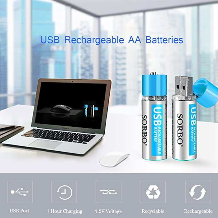 Hitrends AAA Rechargeable Battery can be used in most of household devices