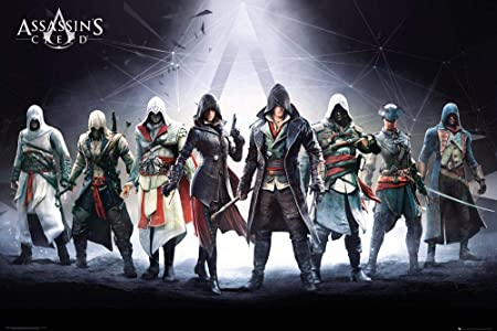 Gb Eye Assassins Creed Characters Maxi Poster 61x91 5cm
