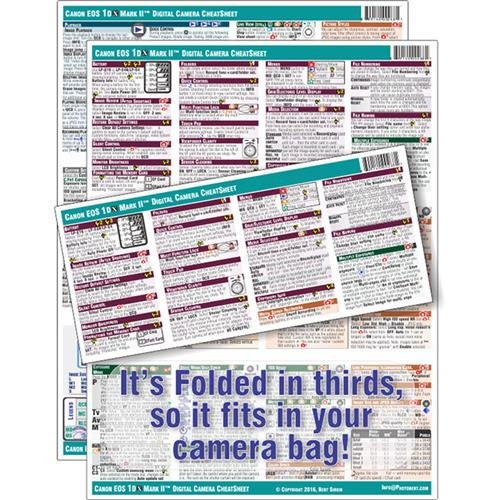PhotoBert Photo CheatSheet - Canon EOS 1DX-Mark II DSLR