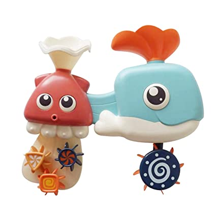 Shower Toy Childrens Bath Toys Baby Water Spray Small Whale Toys Bath Toys Pools & Water Fun