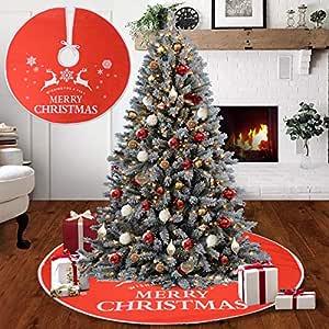 Voilamart De La Falda del š¢rbol De Navidad Cubierta La ...