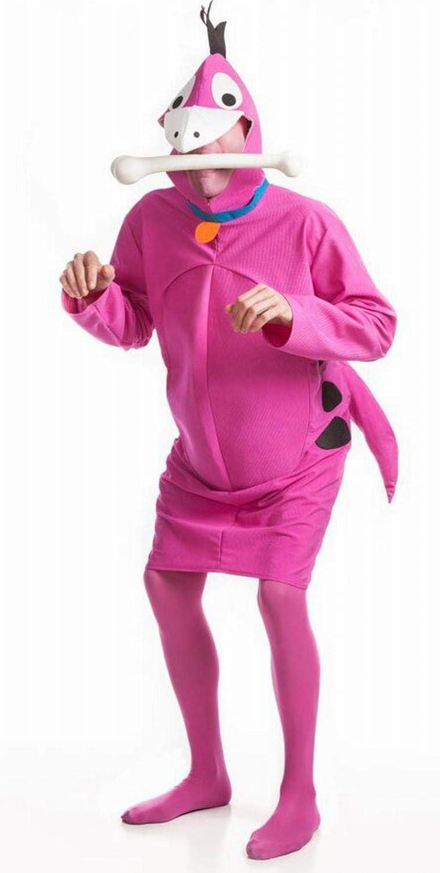 Disfraz de Dinosaurio fucsia para hombre: Amazon.es: Juguetes y juegos